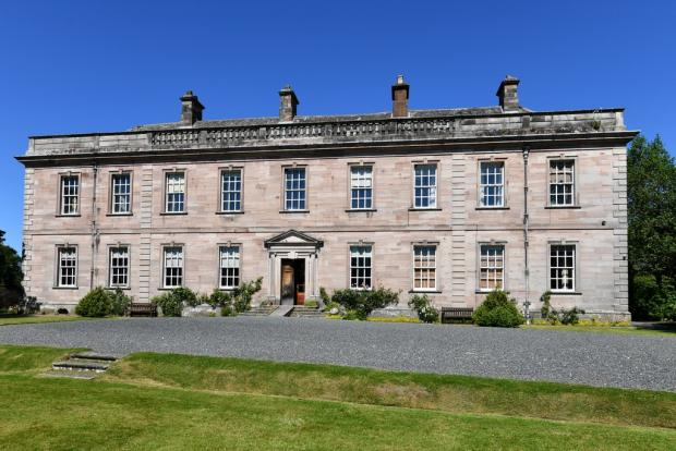 Times and Star: Dalemain Mansion