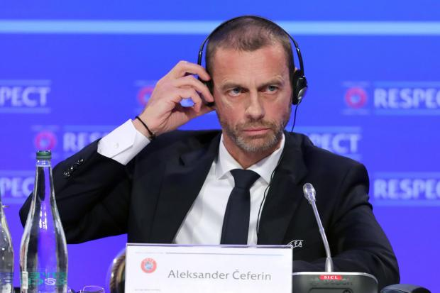 Aleksander Ceferin has called the European Super League a