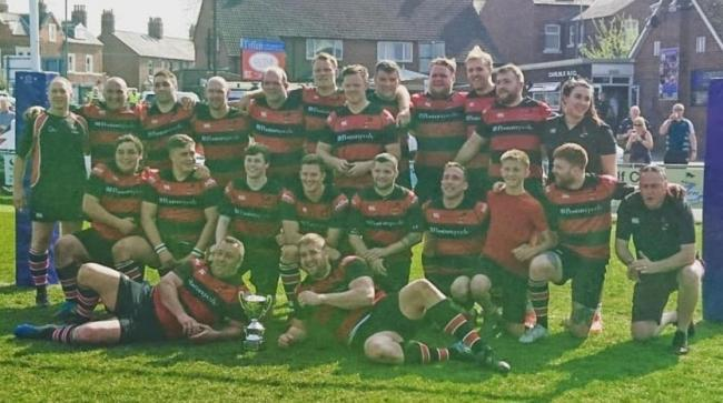 Aspatria RUFC will raise a toast to the fans