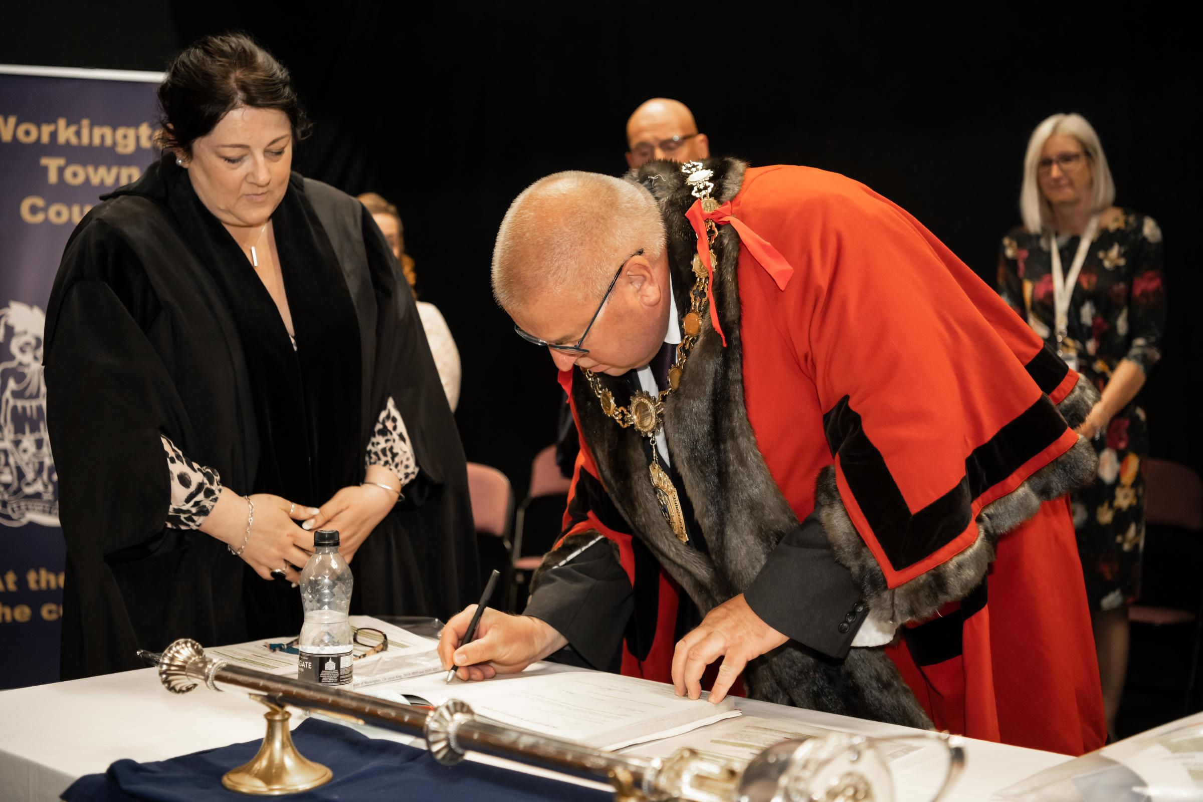 Workington Town Council appoints its new mayor