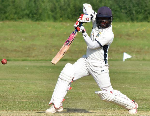 Geeth Kumara: 169 not out against Lindal Moor (Photo: Ben Challis)