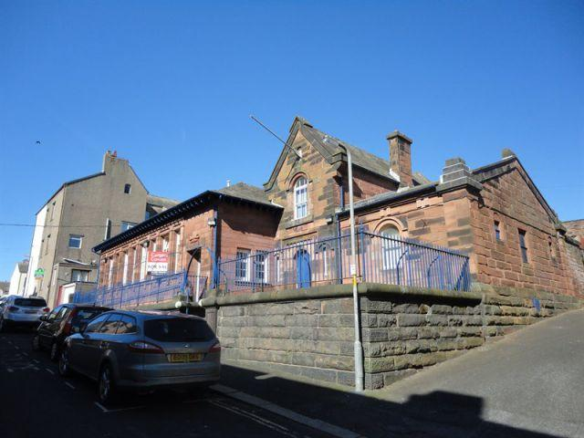 The former Maryport Police Station building