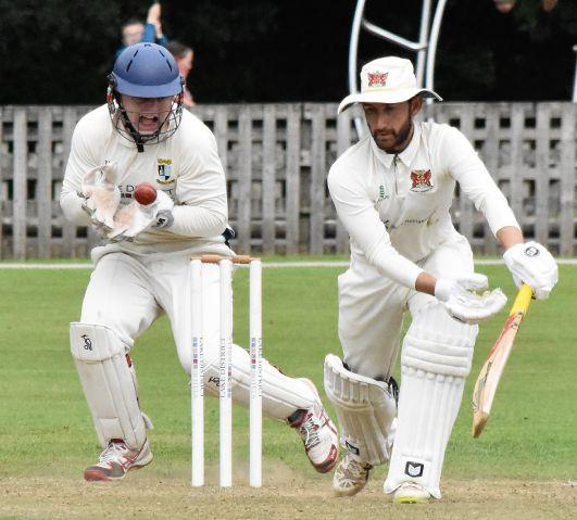 Tom Benn: Made 63 for Carlisle Cricket Club in the win at Keswick (Photo: Ben Challis)