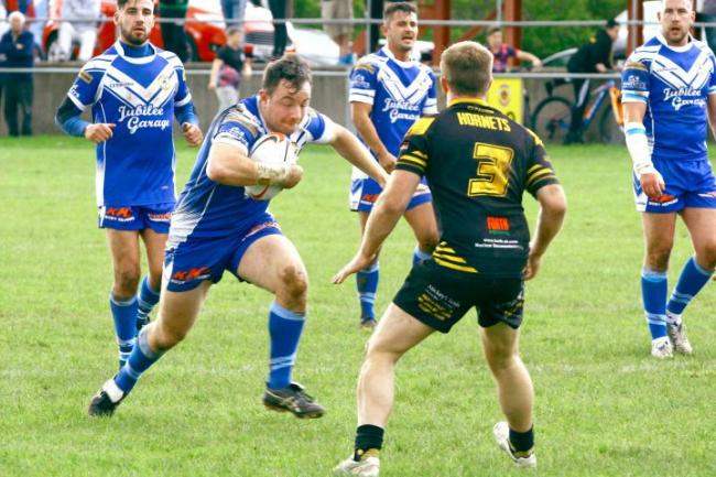 Egremont skipper Kieran Glenn: Will be hoping to lead his side to play-off victory at West Hull (Photo: Peter Bradley)