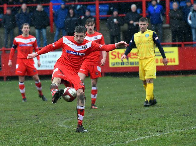 Workington Reds boss delighted as his side 'grind out' victory