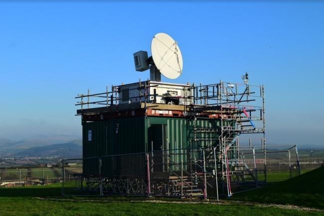 The X-band weather detector