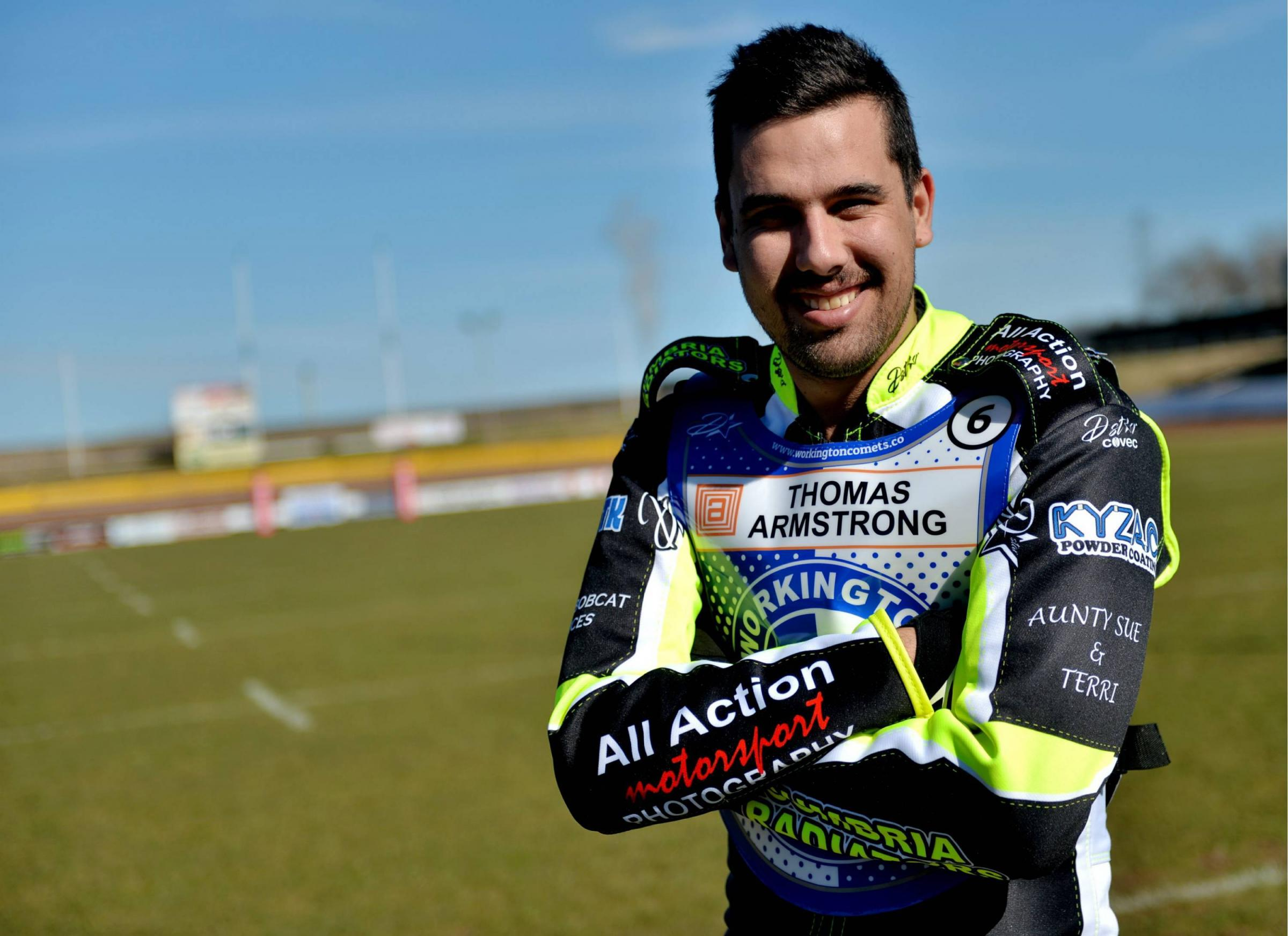 Mason Campton has re-signed for Workington Comets														             Picture: Tom Kay