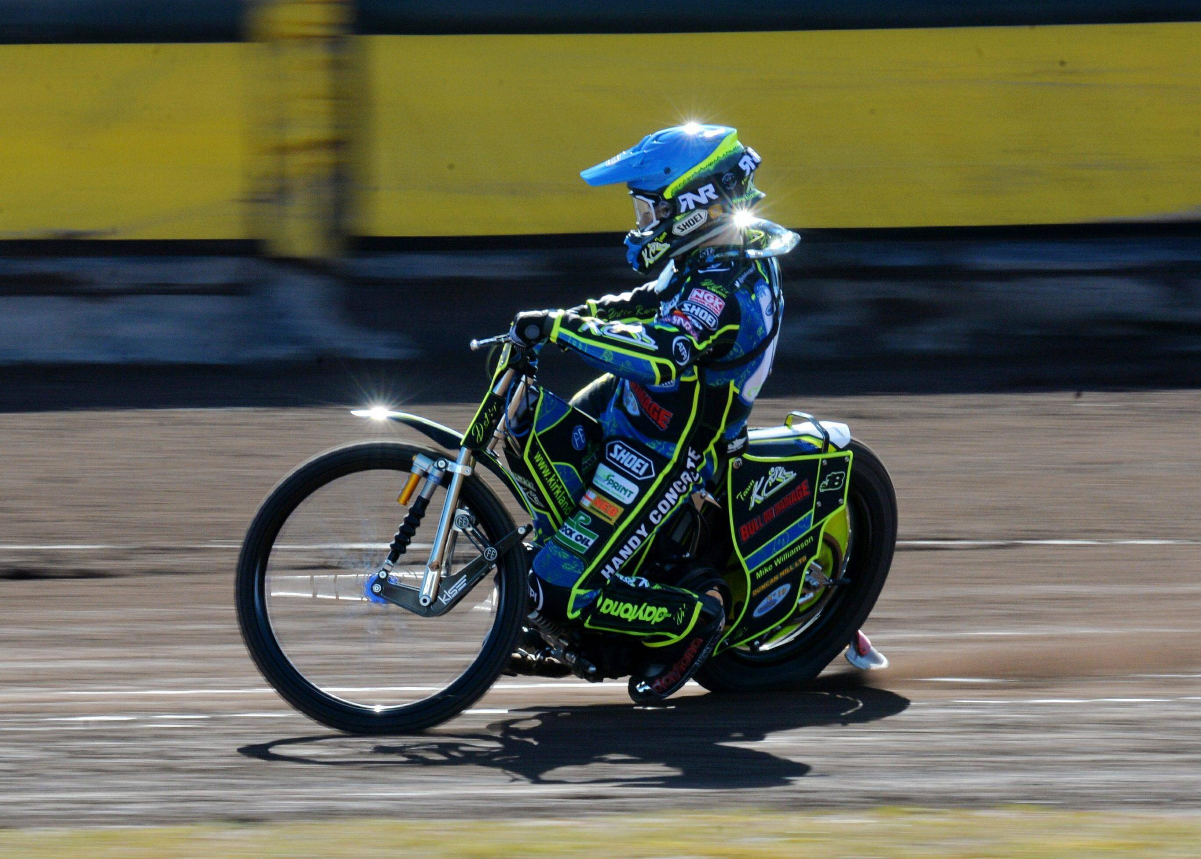 COMMITTED: Rising star Kyle Bickley has signed for another season at Workington Comets			TOM KAY