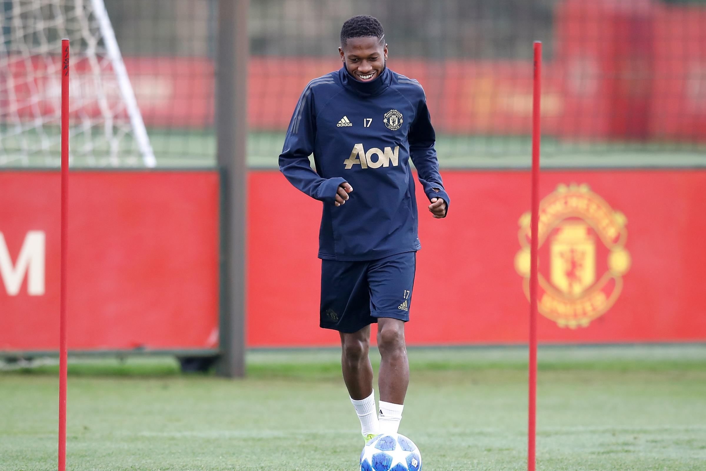 Manchester United Training Session – Aon Training Complex