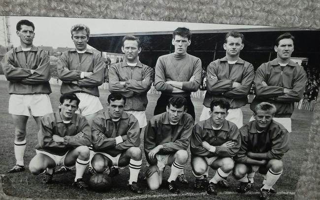 The Workington Reds team who beat Barrow 9-1 in the League Cup back in 1964