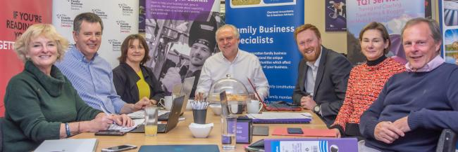 Judging panel of Cumbria Family Business Awards 2019