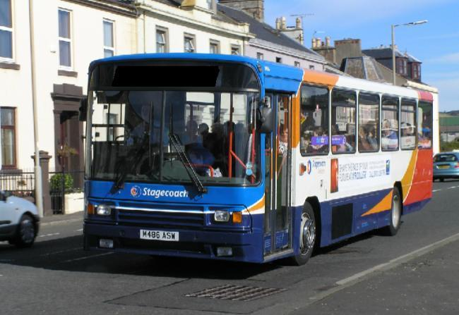 Stagecoach reports improved trading