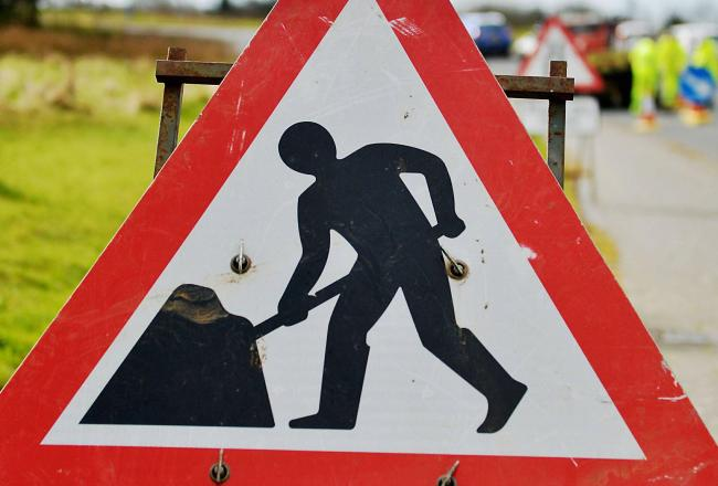 Eight day road closure for carriage surfacing works