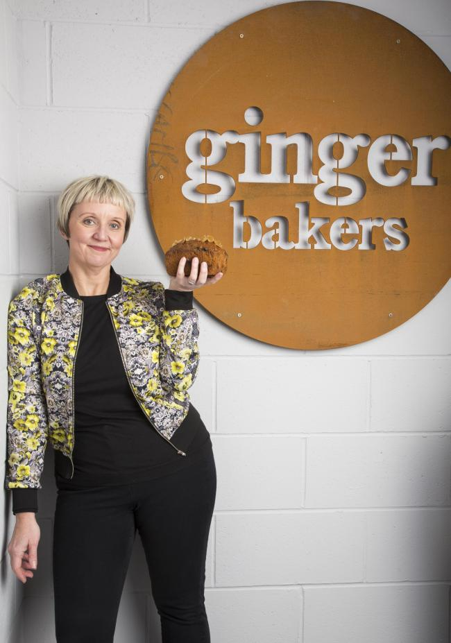 Lisa Smith, Ginger Bakers, Kendal.