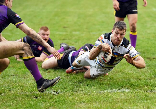 STAND-OUT: Whitehaven's Chris Taylor has proved a revelation at full-back												       Picture: John Story