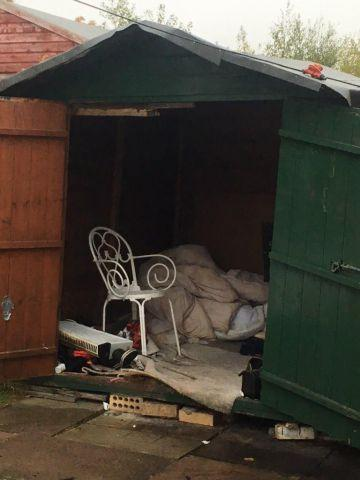 Father and son appear in court charged with human trafficking after man found living in a shed near Carlisle