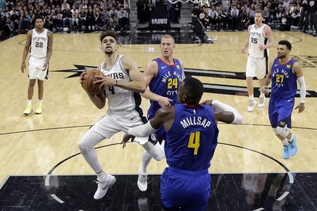 Nuggets Spurs Basketball