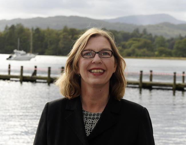 Managing director of Cumbria Tourism Gill Haigh