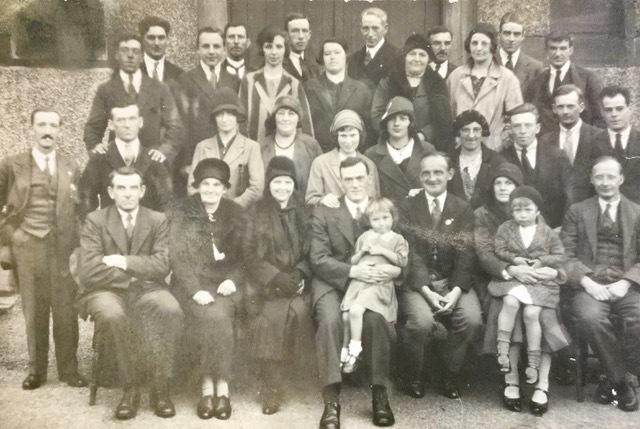 West Cumbrian ILP  members in the 1930s, including Tom Stephenson of Moresby, centre