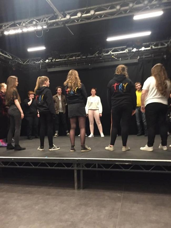 Members of Workington's Theatre Royal Youth are competing in the youth monologue slam competition 2019