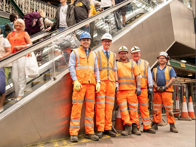 Story Contracting Rail team