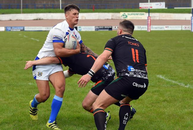 OUT OF ACTION: Workington Town's Caine Barnes
